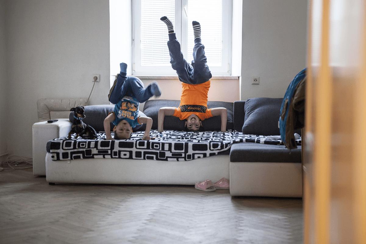 Děti potřebují mít stabilní domov