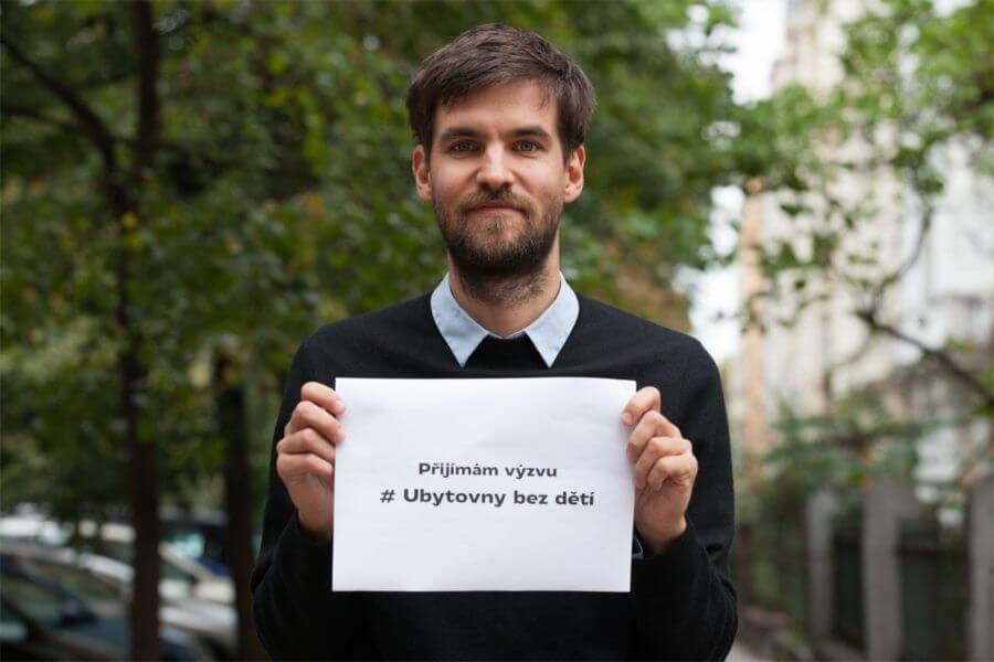 Výzva kampaně #Ubytovny bez dětíí
