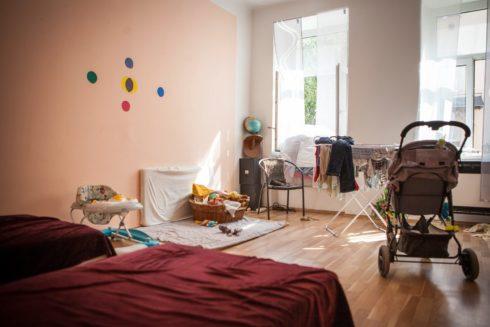 V novém bytě, Rapid Re-Housing_©_Barbora Kleinhamplová