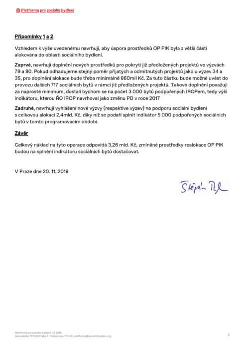 Připomínky k návrhu změn Integrovaného regionálního operačního programu 2014 - 2020_str.3
