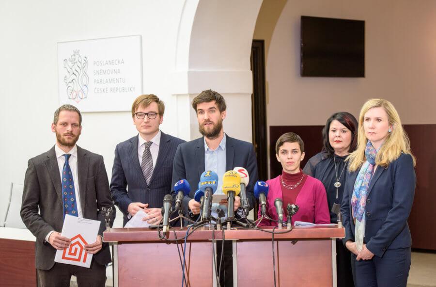 Tisková konference ke Zprávě o vyloučení z bydlení za rok 2018
